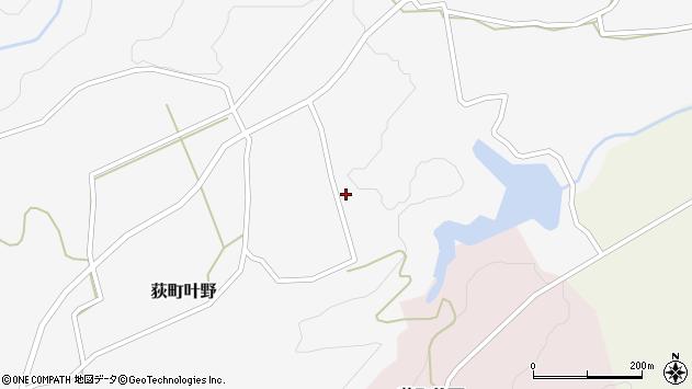 大分県竹田市荻町叶野1289周辺の地図