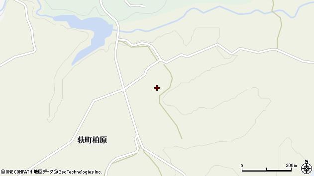 大分県竹田市荻町柏原池原周辺の地図