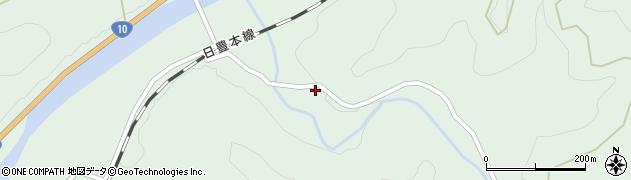 大分県佐伯市直川大字上直見2475周辺の地図
