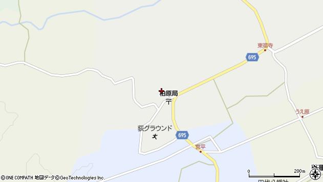 大分県竹田市荻町瓜作4631周辺の地図