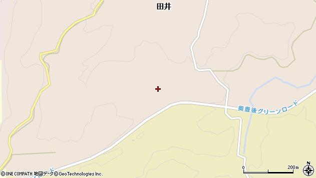 大分県竹田市田井504周辺の地図