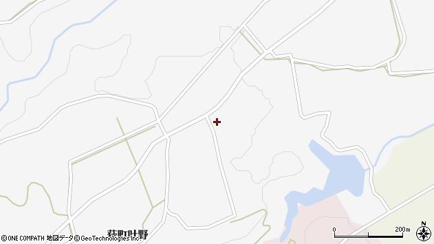 大分県竹田市荻町叶野1292周辺の地図