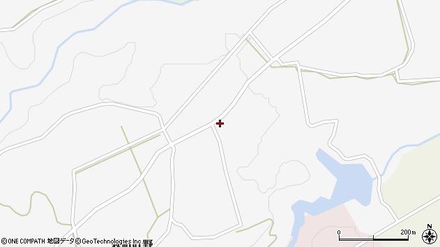 大分県竹田市荻町叶野1293周辺の地図
