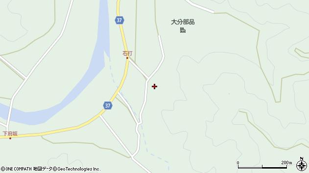 大分県佐伯市堅田2036周辺の地図