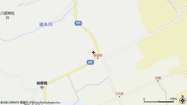 大分県竹田市荻町瓜作4543周辺の地図
