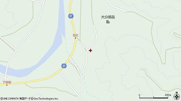 大分県佐伯市堅田2039周辺の地図