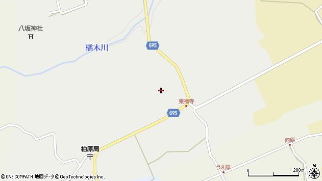 大分県竹田市荻町瓜作4546周辺の地図
