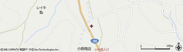 大分県佐伯市木立3164周辺の地図