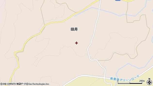 大分県竹田市田井1040周辺の地図