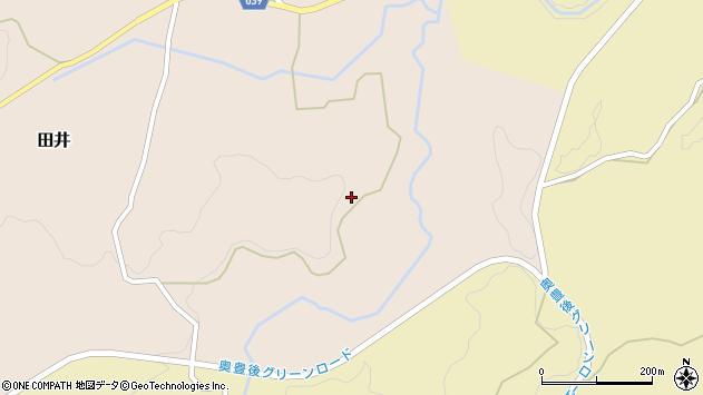 大分県竹田市田井1188周辺の地図