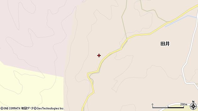 大分県竹田市田井630周辺の地図