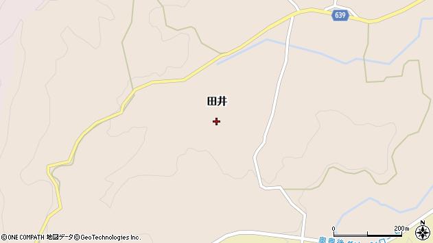 大分県竹田市田井1018周辺の地図