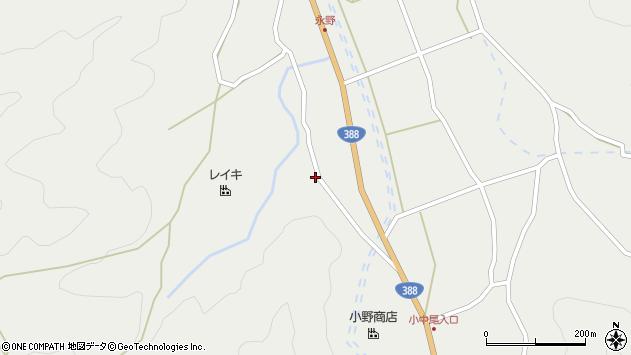 大分県佐伯市木立2110周辺の地図