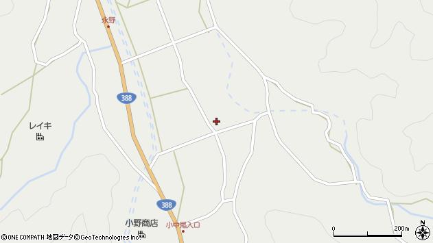 大分県佐伯市木立2754周辺の地図
