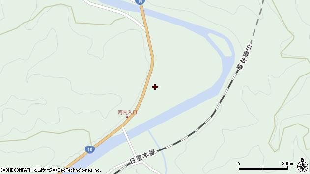 大分県佐伯市直川大字上直見1747周辺の地図