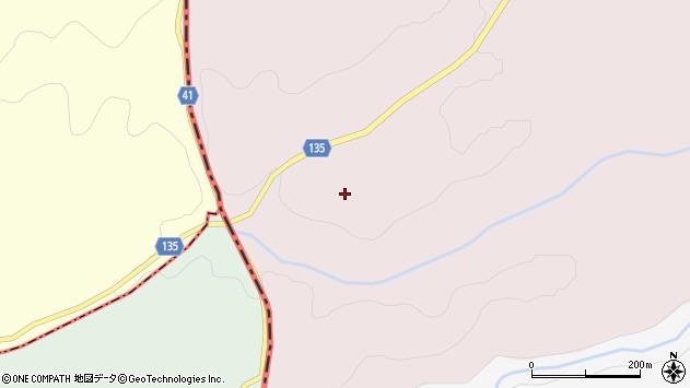 大分県竹田市荻町桑木周辺の地図