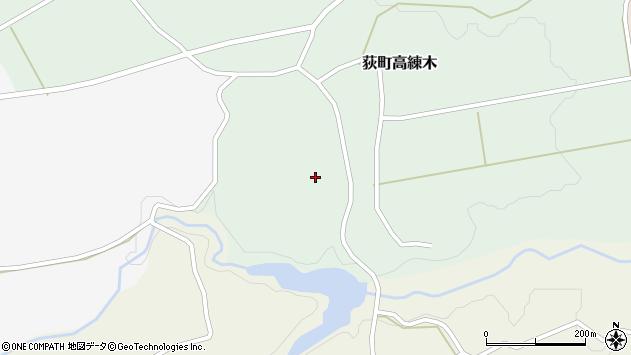 大分県竹田市荻町高練木2189周辺の地図
