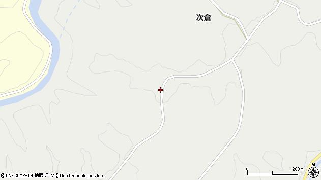 大分県竹田市次倉1035周辺の地図