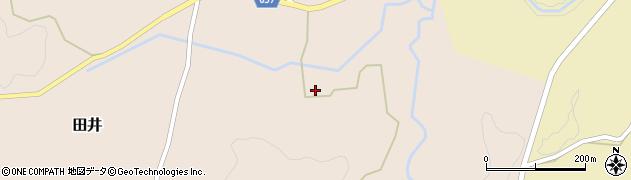 大分県竹田市田井1115周辺の地図