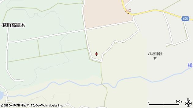 大分県竹田市荻町柏原2612周辺の地図