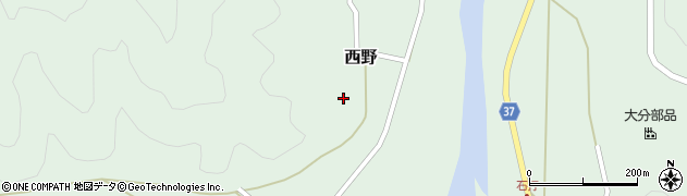 大分県佐伯市堅田2768周辺の地図