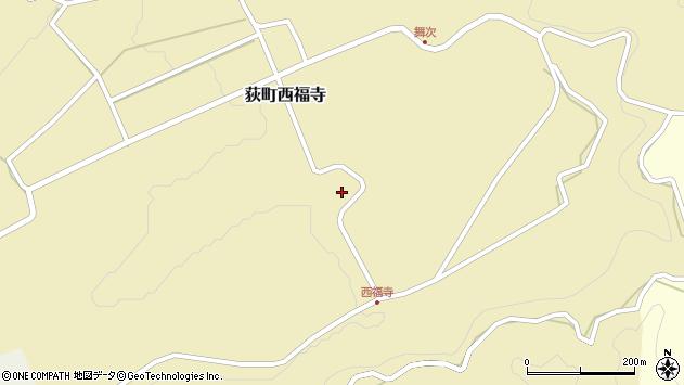 大分県竹田市荻町西福寺5698周辺の地図