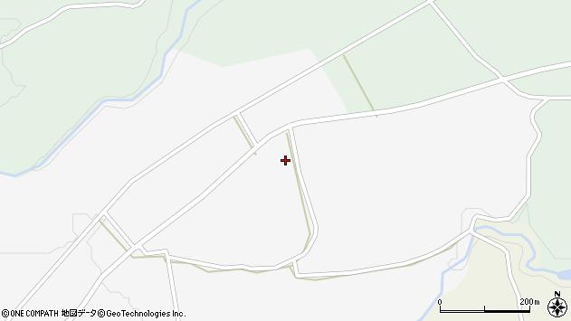 大分県竹田市荻町叶野1385周辺の地図