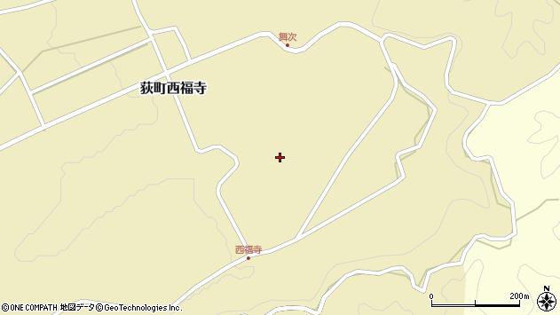 大分県竹田市荻町西福寺6023周辺の地図