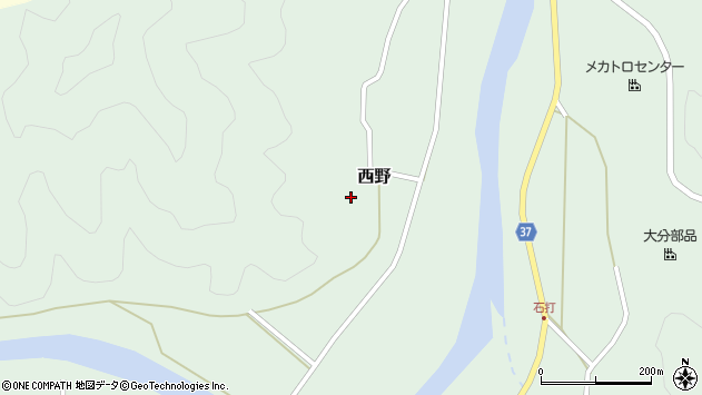 大分県佐伯市堅田2772周辺の地図