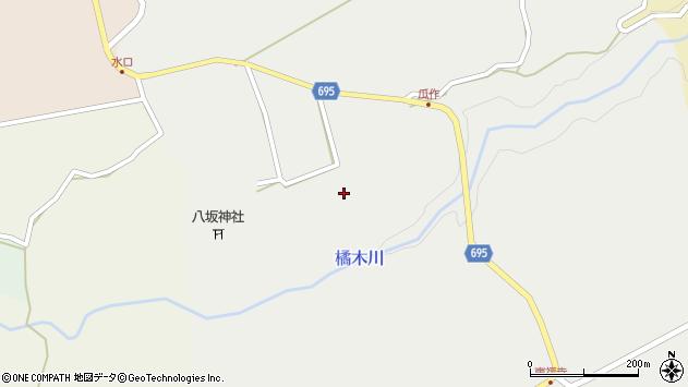大分県竹田市荻町瓜作4859周辺の地図