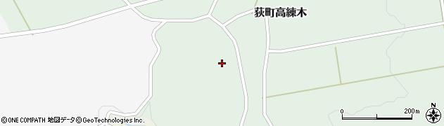 大分県竹田市荻町高練木2141周辺の地図