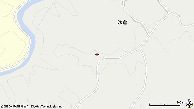 大分県竹田市次倉973周辺の地図