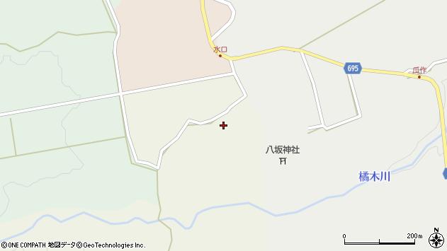 大分県竹田市荻町柏原2566周辺の地図