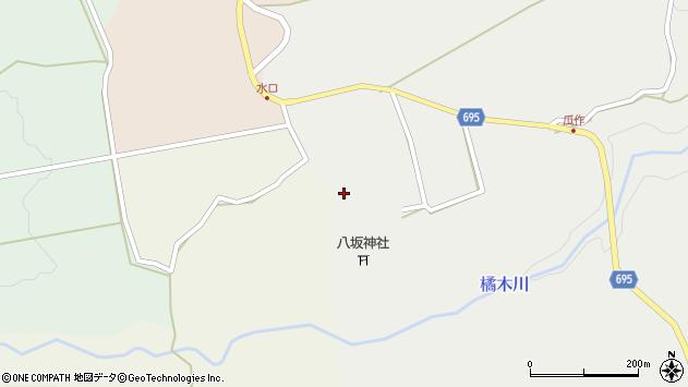 大分県竹田市荻町瓜作4926周辺の地図