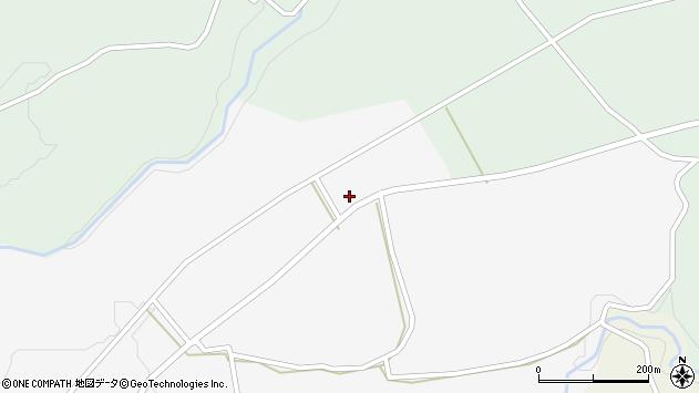 大分県竹田市荻町叶野1456周辺の地図