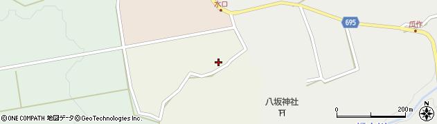 大分県竹田市荻町柏原2564周辺の地図
