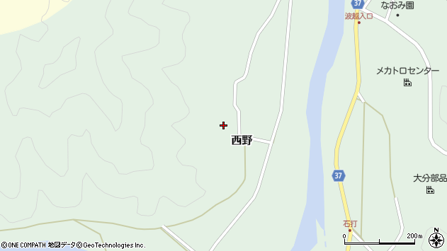 大分県佐伯市堅田2794周辺の地図