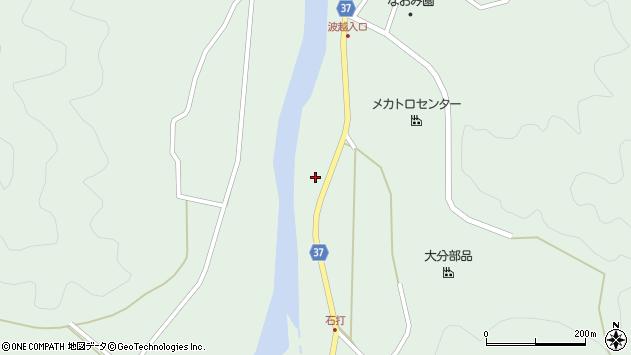 大分県佐伯市堅田2317周辺の地図