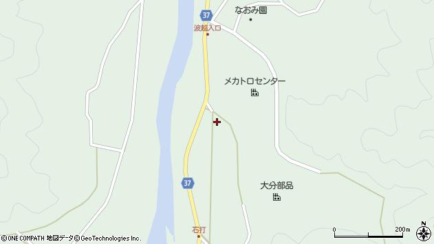 大分県佐伯市堅田2119周辺の地図