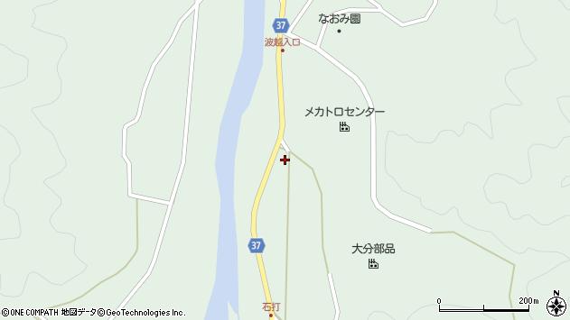 大分県佐伯市堅田2290周辺の地図