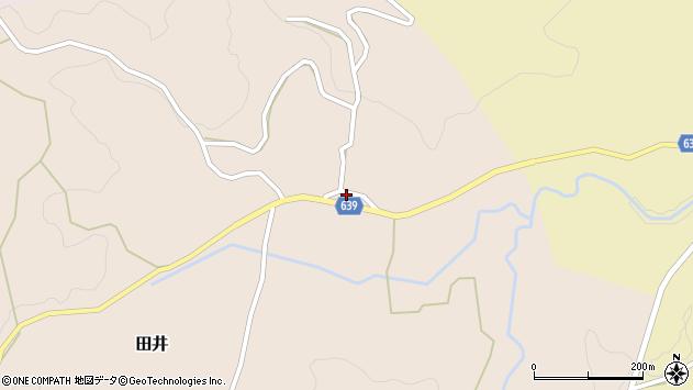 大分県竹田市田井49周辺の地図