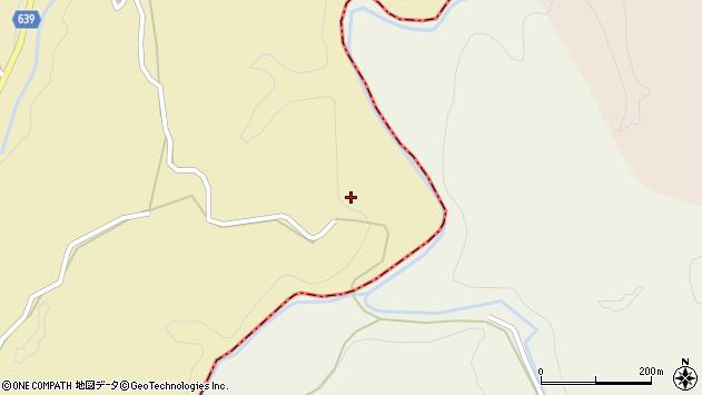大分県竹田市太田2549周辺の地図