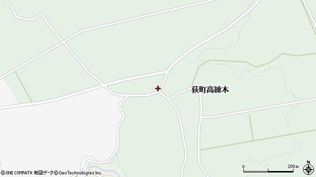 大分県竹田市荻町高練木2115周辺の地図