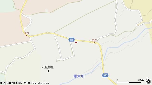 大分県竹田市荻町瓜作4689周辺の地図