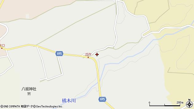 大分県竹田市荻町瓜作4709周辺の地図