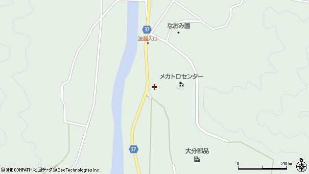大分県佐伯市堅田3577周辺の地図