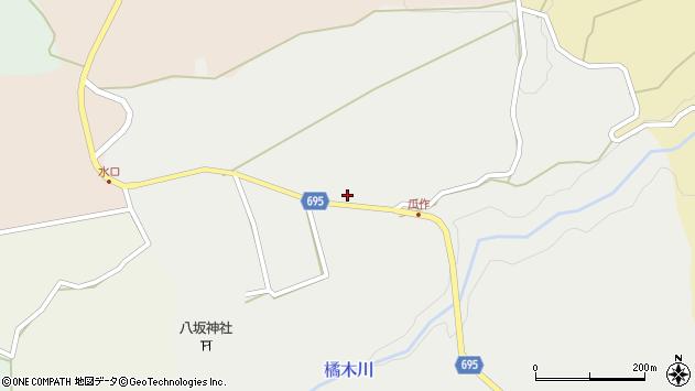 大分県竹田市荻町瓜作4690周辺の地図