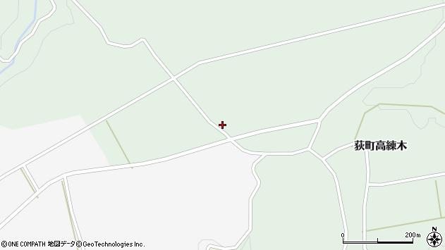 大分県竹田市荻町高練木2101周辺の地図