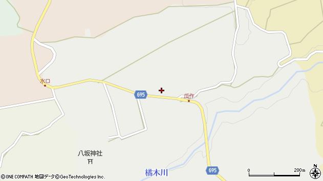 大分県竹田市荻町瓜作4691周辺の地図