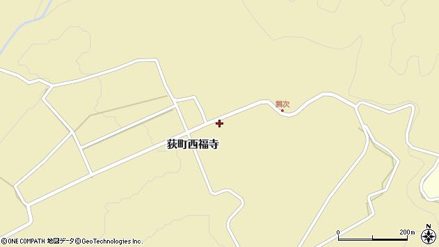 大分県竹田市荻町西福寺5954周辺の地図